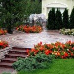 цветники возле дома